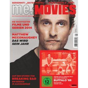 ME.MOVIES Nr. 1 / 2014 – Das Magazin für Film, Serien und Kultur