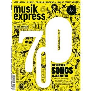 """MUSIKEXPRESS AUSGABE 04/2014 INKL. SPECIAL """"DIE 700 BESTEN SONGS ALLER ZEITEN"""""""