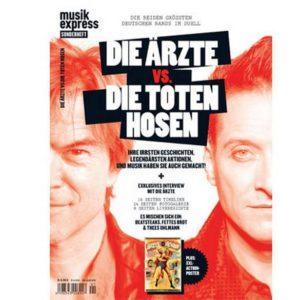 MUSIKEXPRESS SONDERHEFT: DIE ÄRZTE vs. DIE TOTEN HOSEN